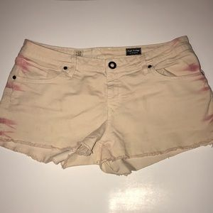 Light pink Volcom jeans shorts